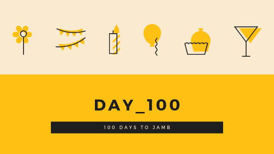 100 days to JAMB - How  I got the highest score in JAMB.
