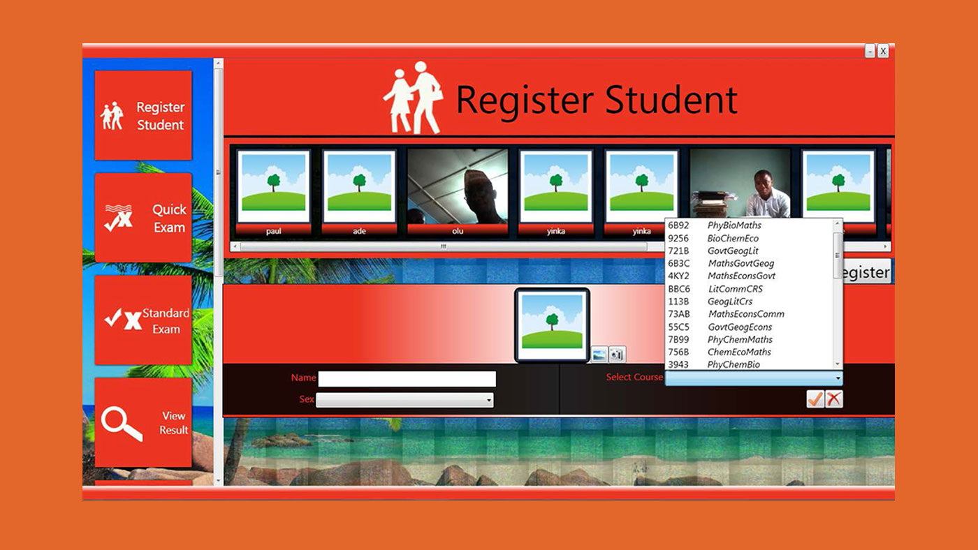 Registering students for Avalanche JAMB CBT software
